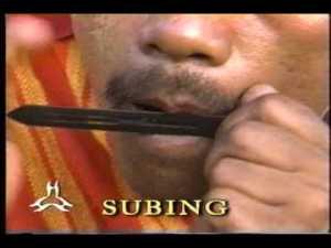 subing